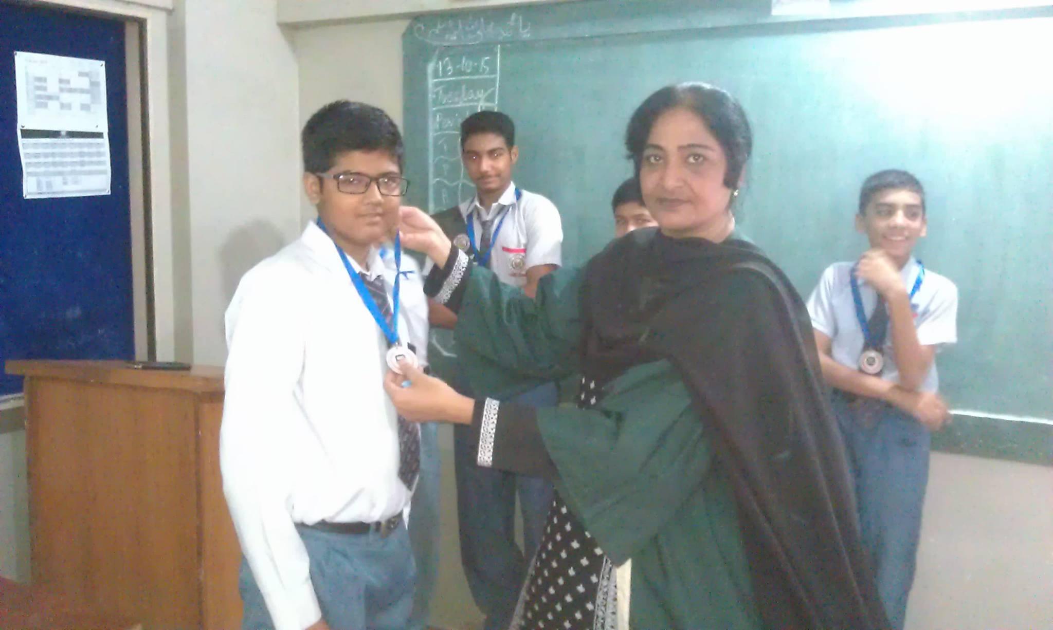 Students Awarded