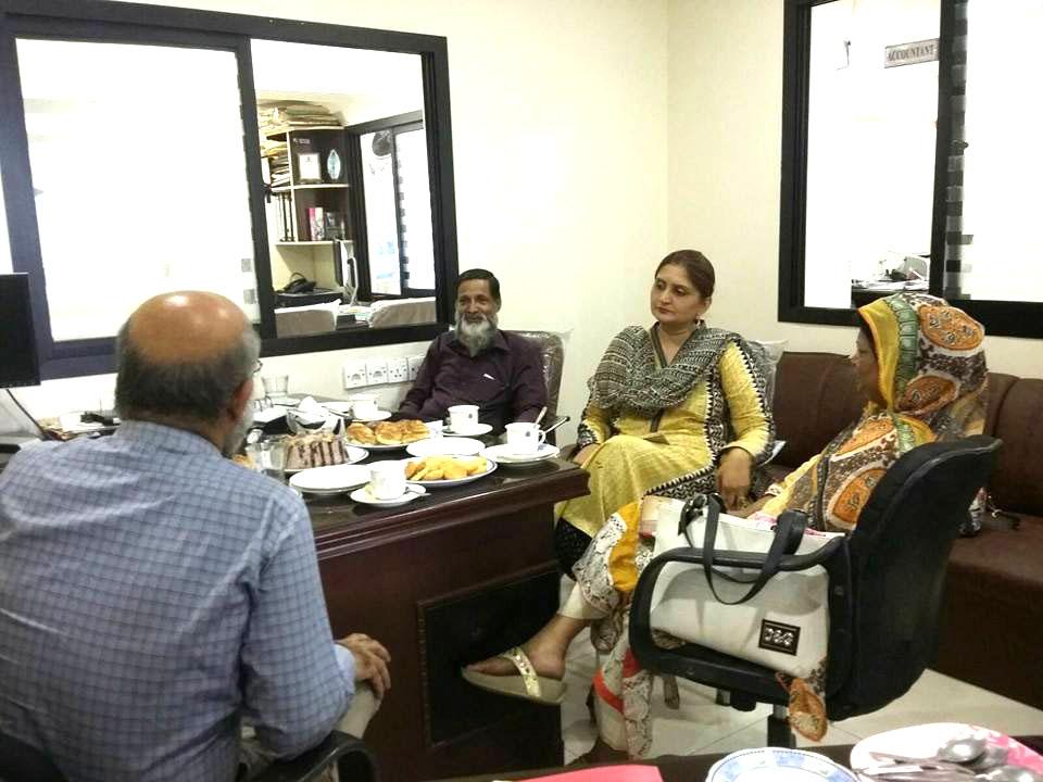Meeting with Hamdard University