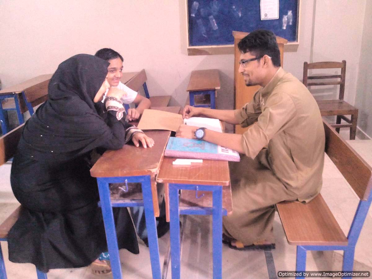 Parents Teacher Meeting – KMA Boys Secondary School