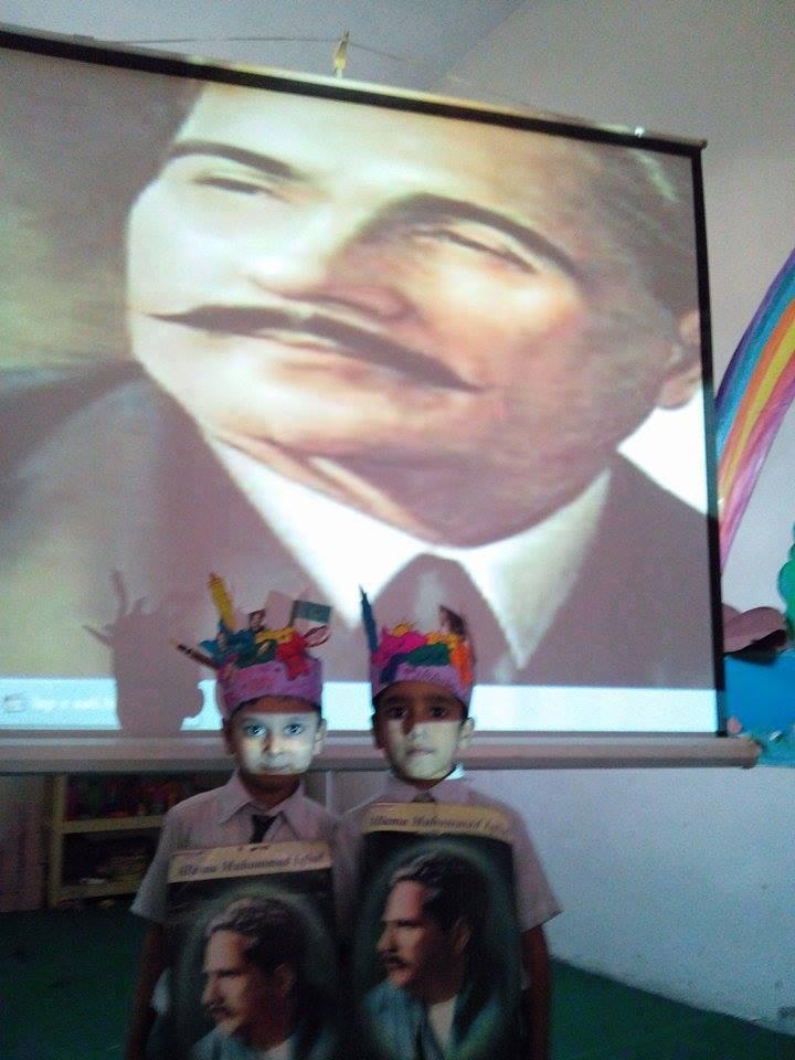 Iqbal Day 2015 ; KMA Boys & Girls Primary School Kharadar