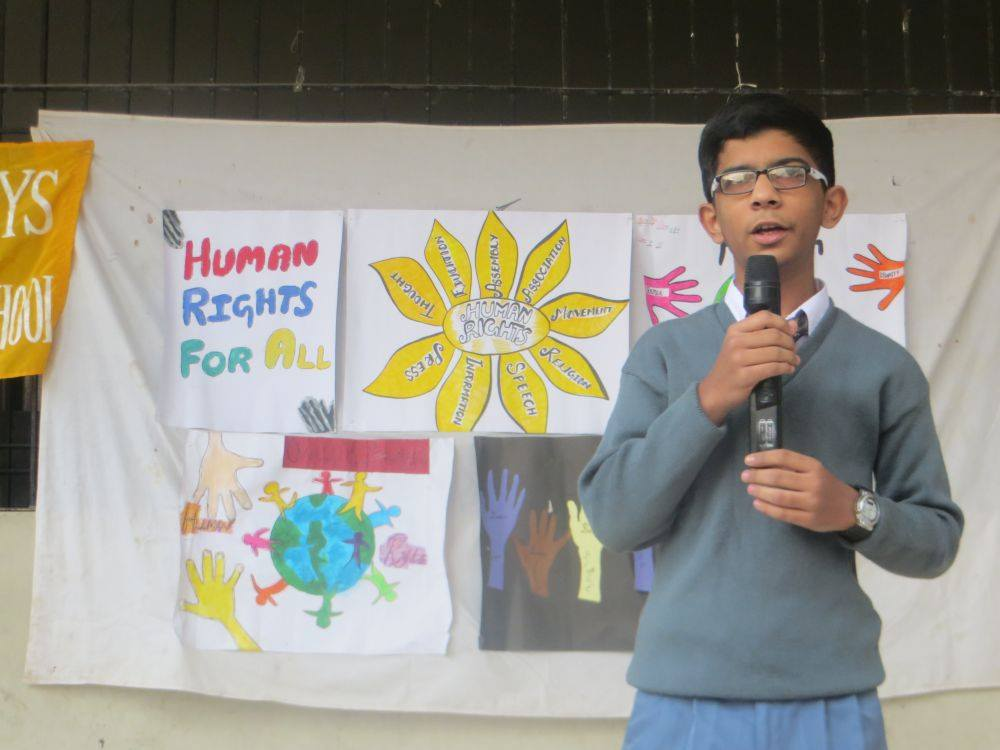 International Human Right Day; KMA Boys Secondary School