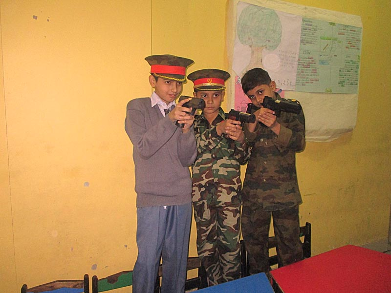 Homage to  martyrs of APSACS Peshawar ; KMA Boys & Girls School, Nayabad