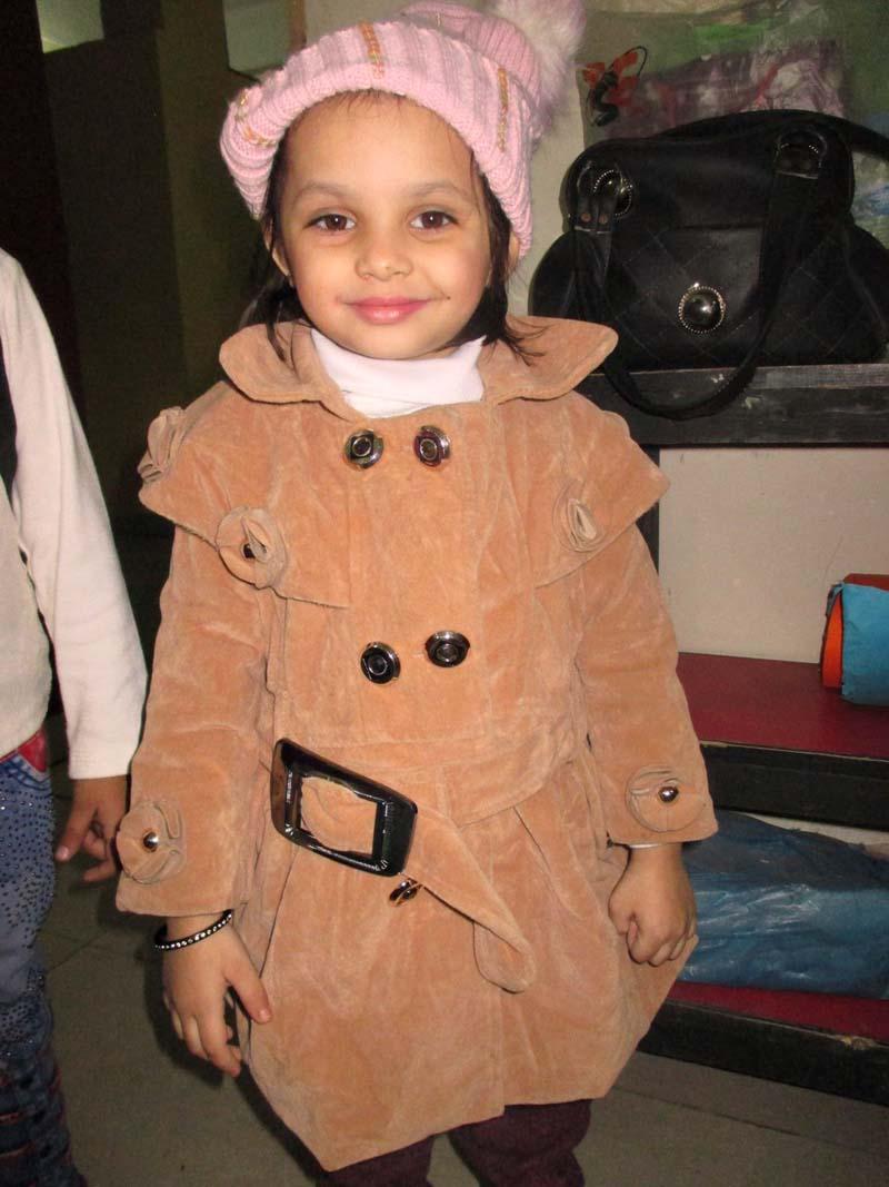 SnowFall Day: KMA Primary School, Nayabad