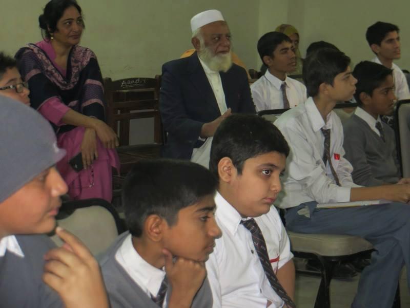 Urdu Club ; KMA Boys Secondary School