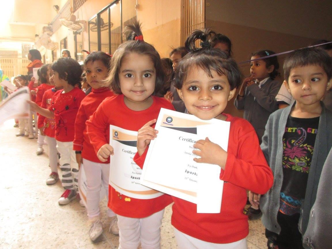 Sports Day ; KMA Primary School Kharadar
