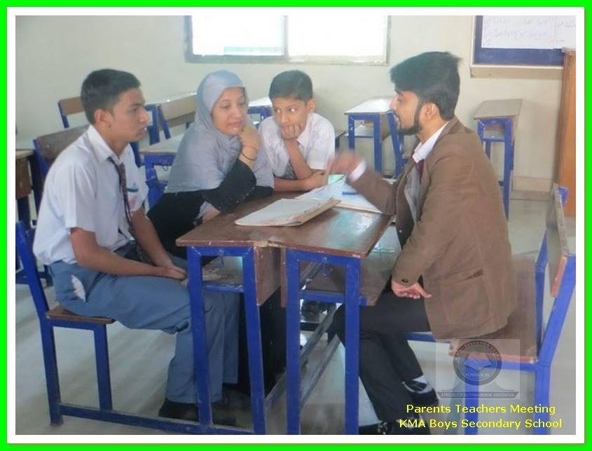 Parents Teacher Meeting 2015 ; KMA Boys Secondary School