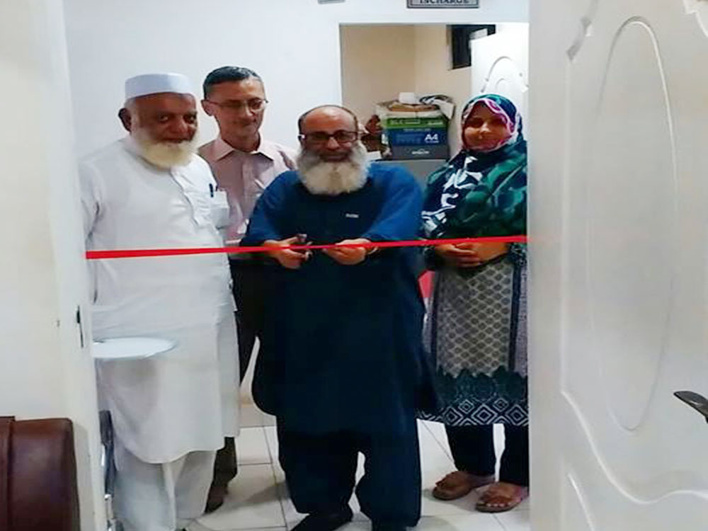 Inauguration of the Renovated Room of Academic Coordinator