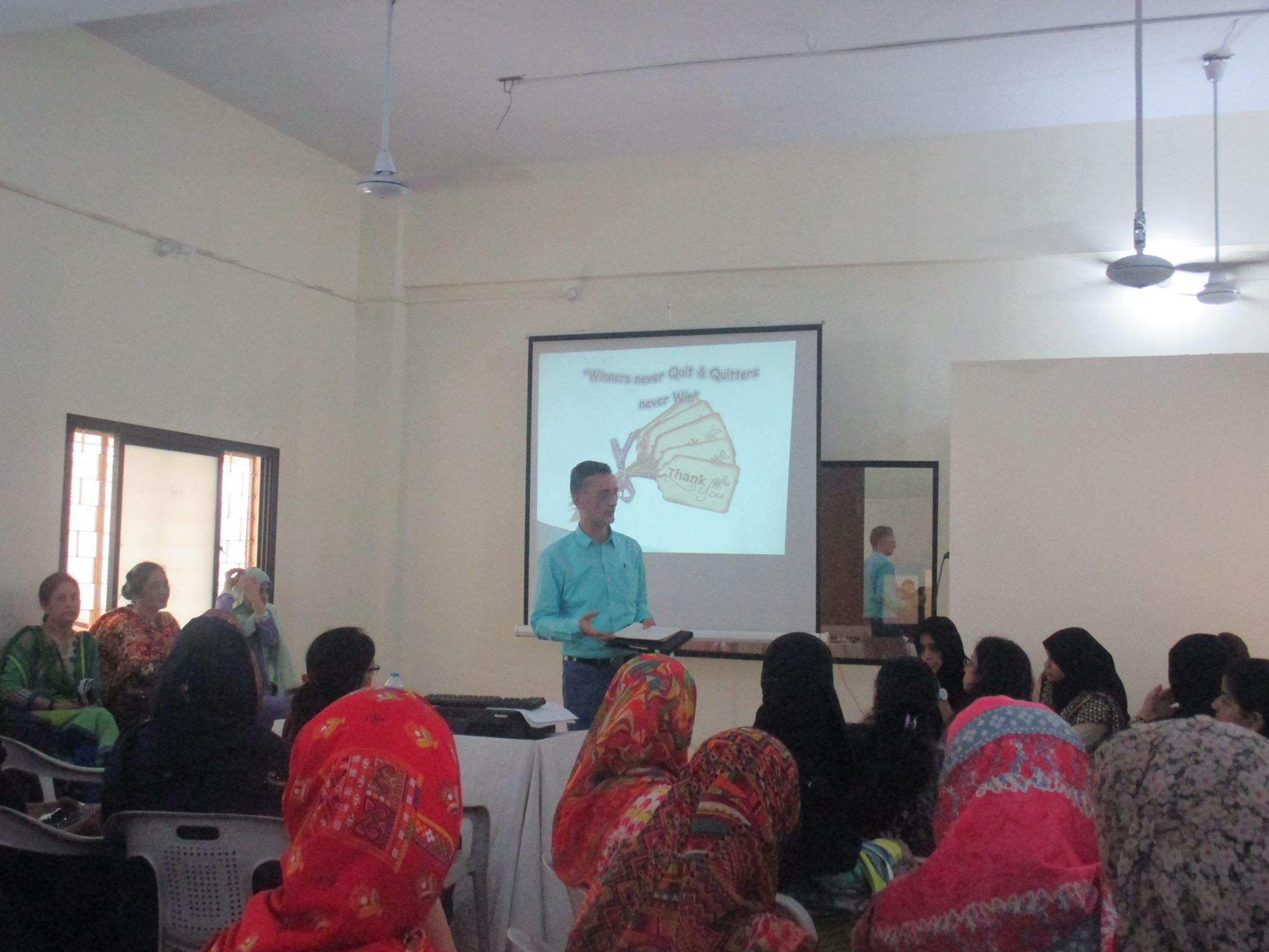Teachers training workshops held on 21st & 22nd July 2016