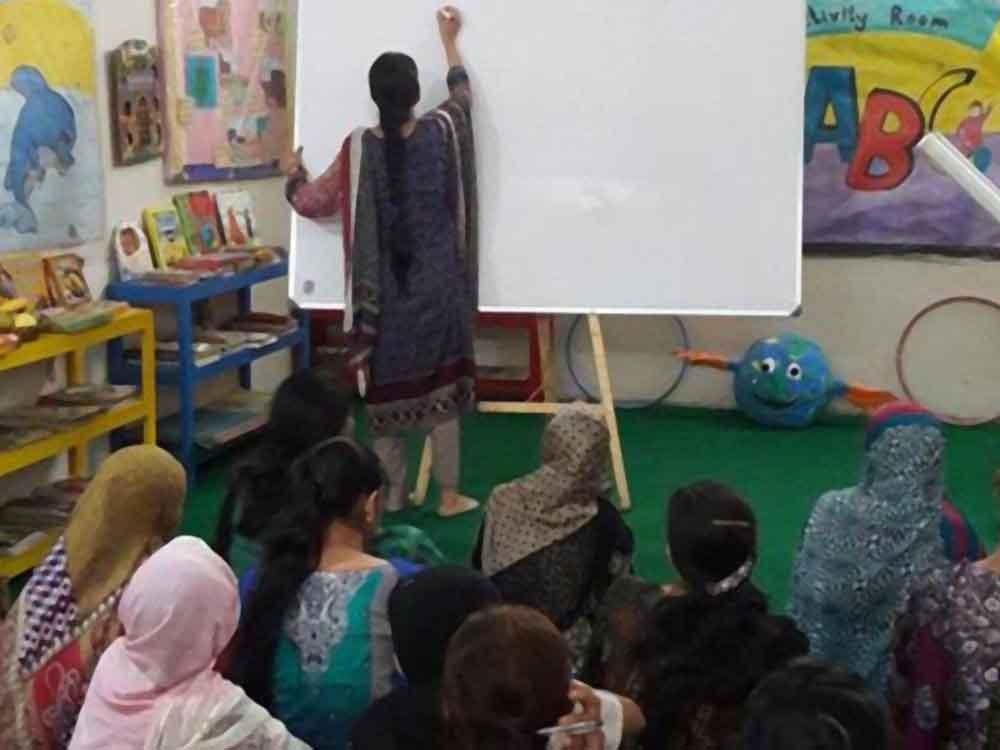 Workshops for Teachers' Development at KMA Girls & Boys Primary School