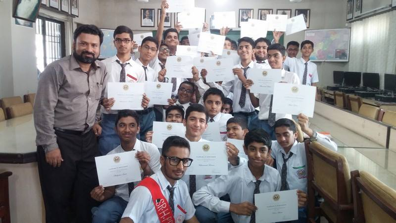Students of KMA Boys Secondary School have successfully completed two-years English Access Micro-scholarship Program.