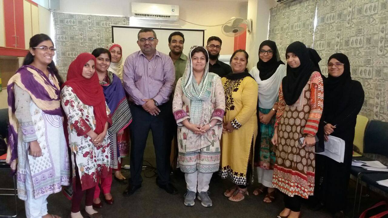 Training workshop on Core Skills of Teaching attended by Two Teachers of KMA Boys Secondary School organized by British Council Karachi