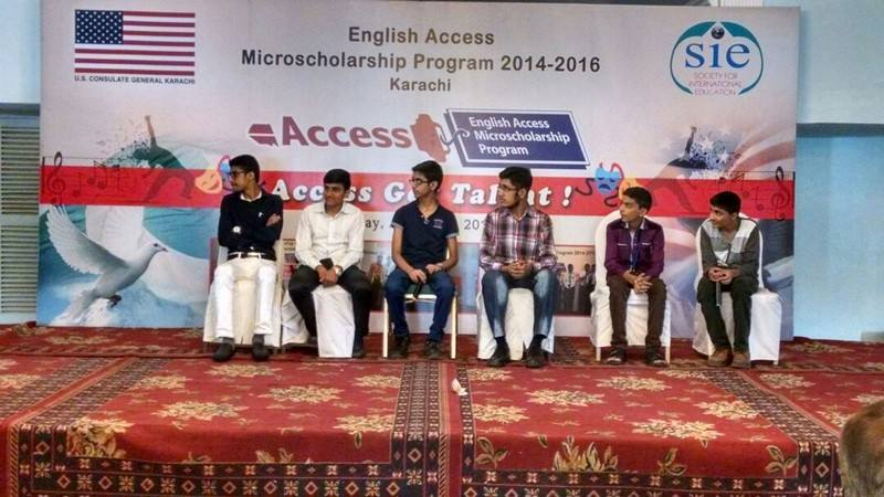 Students of KMA Boys Secondary School attended ACCESS Event and participated in different activities.