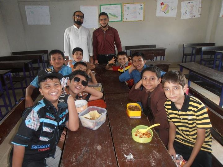Eid Milan Party ; KMA Boys Secondary School