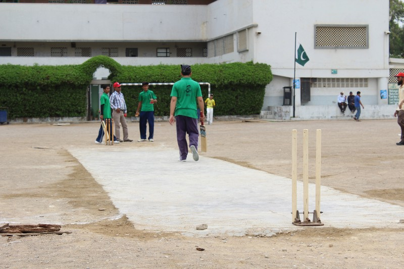 Two friendly matches were played between KMA Boys Secondary School and Aisha Bawani School.