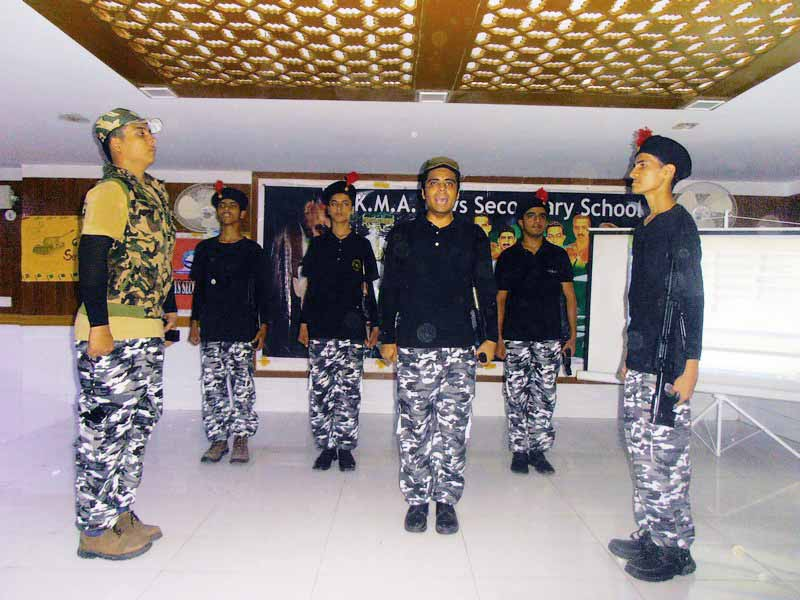 Defence Day of Pakistan observed in KMA Boys Secondary School