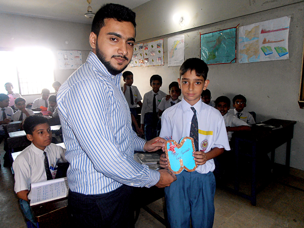 Teachers' Day; KMA Boys Sec. School