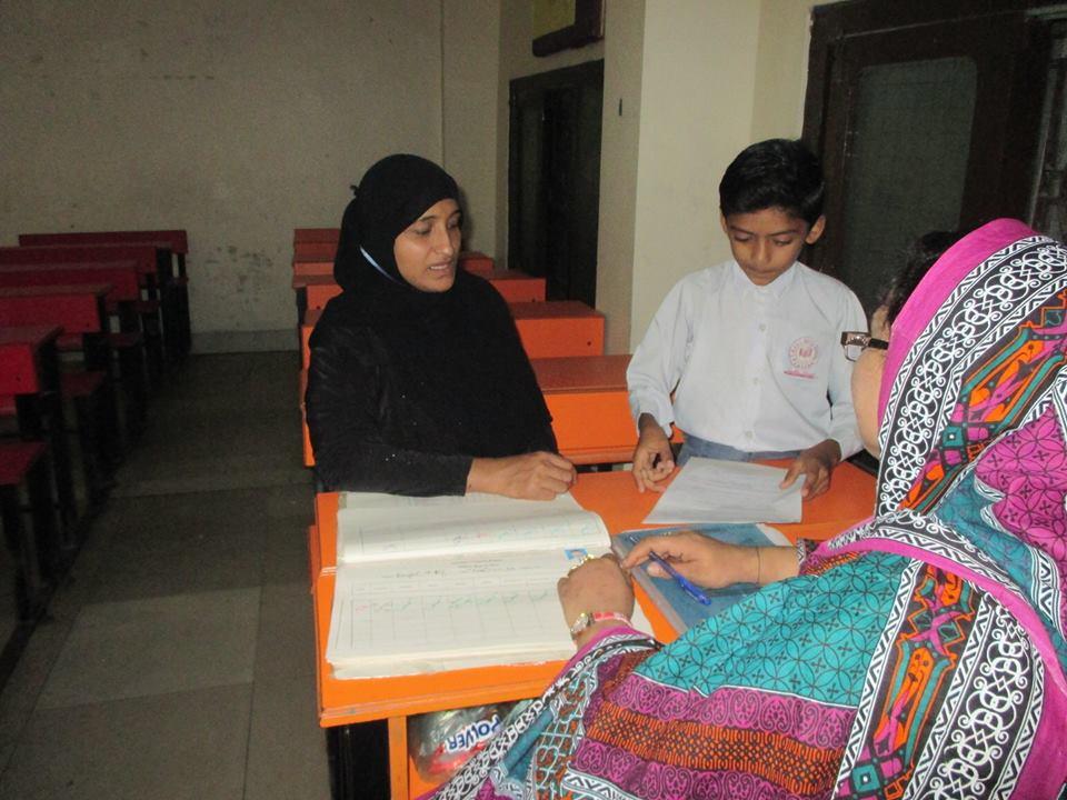 Parents Teachers meeting; KMA Girls & Boys School, Nayabad
