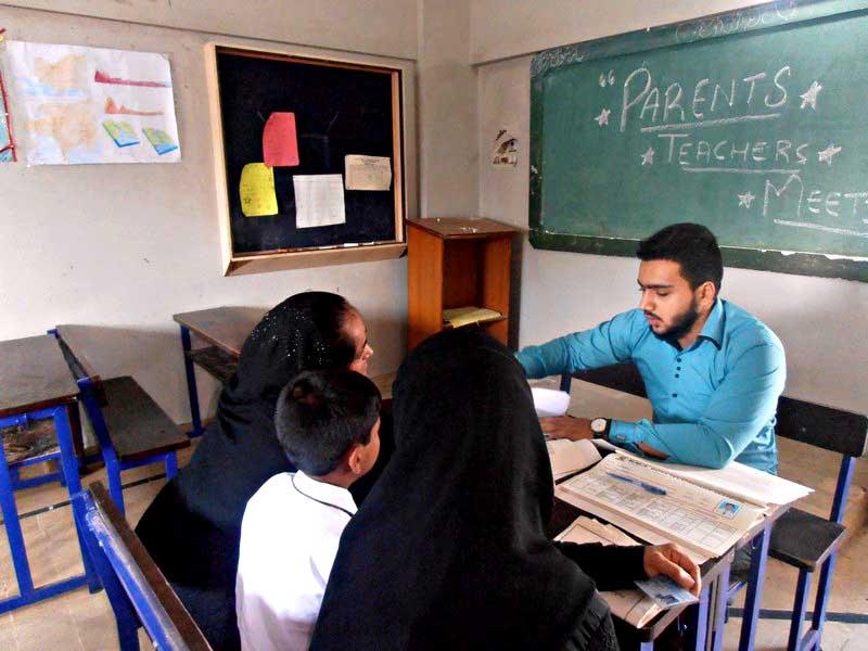 Parent-Teacher Meeting; KMA Boys Secondary School