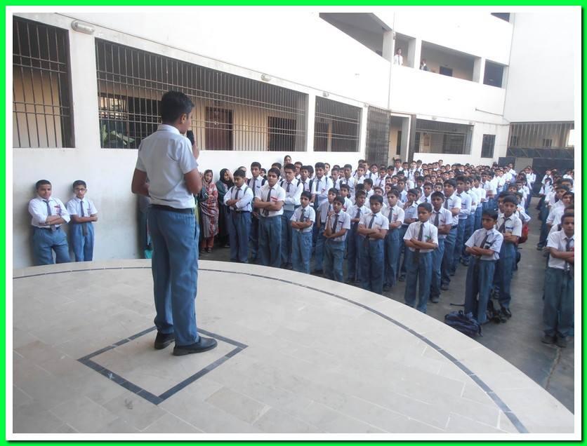Iqbal Day; KMA Boys Secondary School