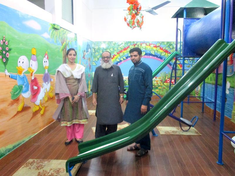 Chairmans Visit; Nayabad Campus