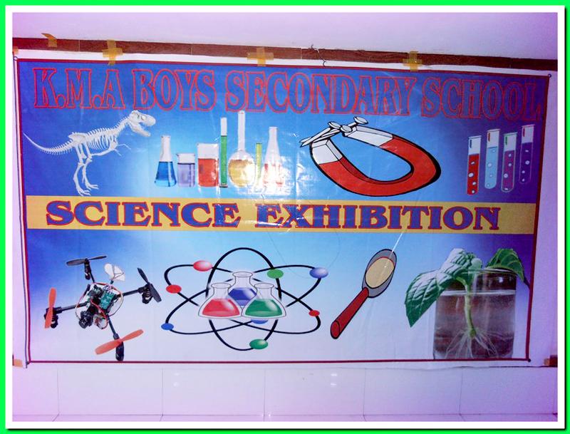 Science Exhibition; KMA Boys Sec. School