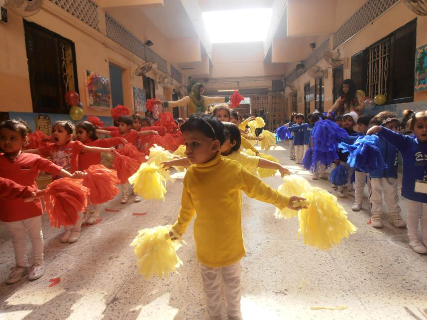 Sports Day at KMA Girls & Boys Primary School, Kharadar