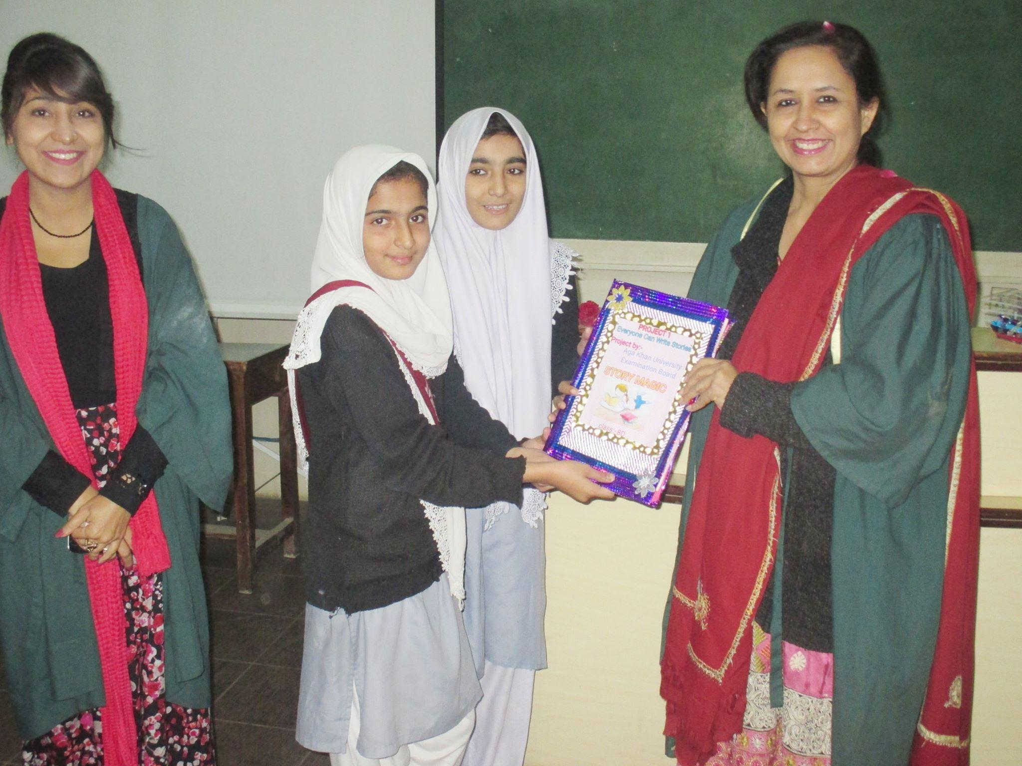 Story Writing; KMA Girls Sec. School