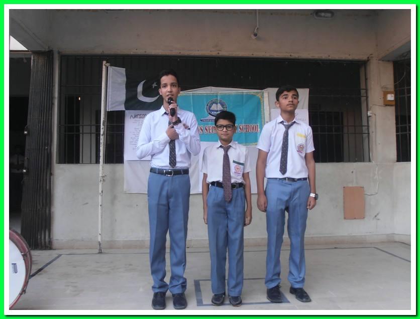 National Anthem; KMA Boys Sec. School
