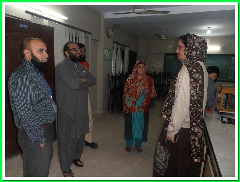 Faisal Edhi visits KMA Boys Sec. School