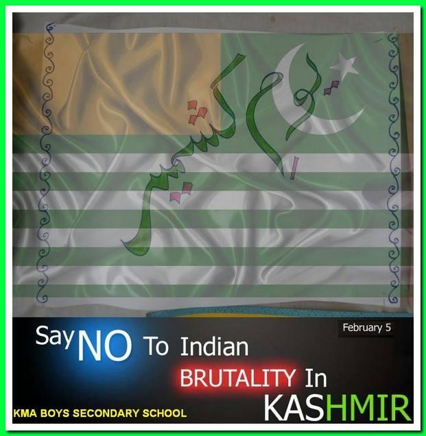 Kashmir Day; KMA Boys Secondary School