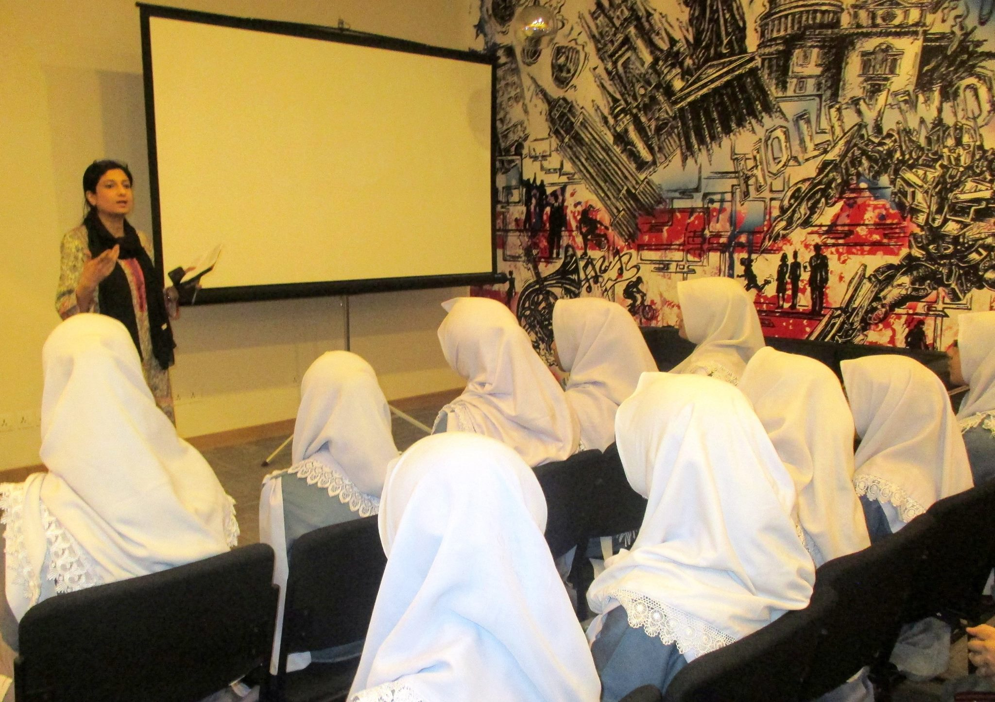 Workshop by U.S Consulate at PACC