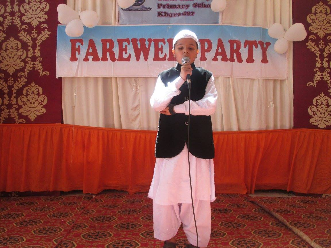 Farewell Party; KMA Primary School; Nayabad