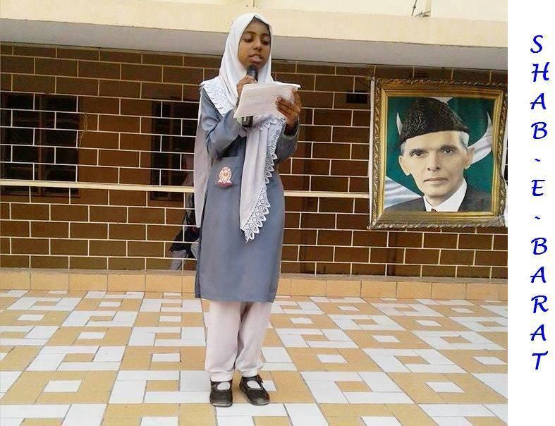 Shab e Barat;  KMA Girls Secondary School