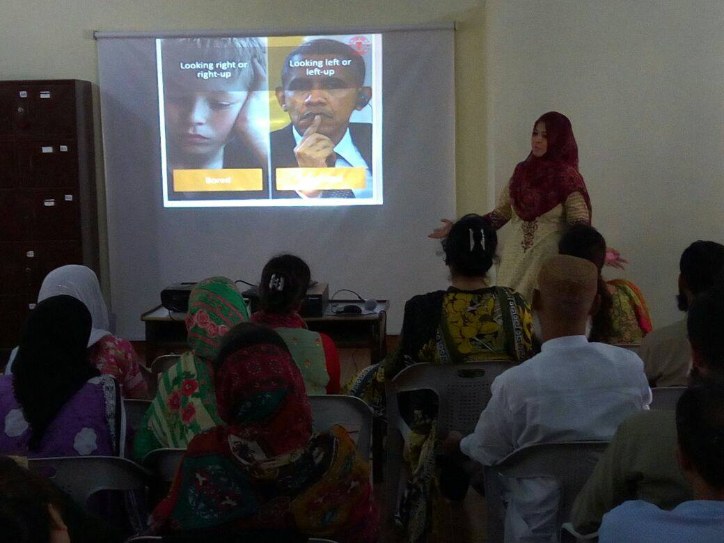 "Teachers Development Workshops on ""Impact of Gestures"""