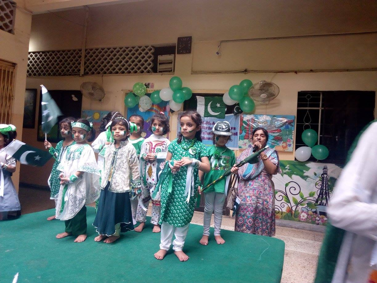 Independence Day 2017; KMA Primary School, Kharadar