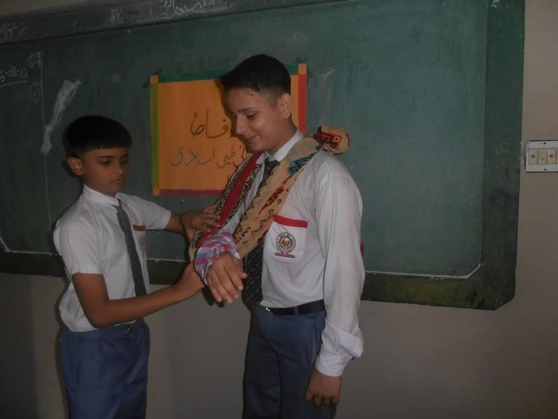 First Aid Methods Training ; KMA Boys Secondary School