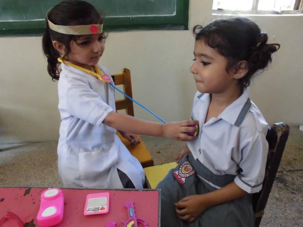 Profession Day 2017 ; KMA Girls & Boys Primary School, Kharadar