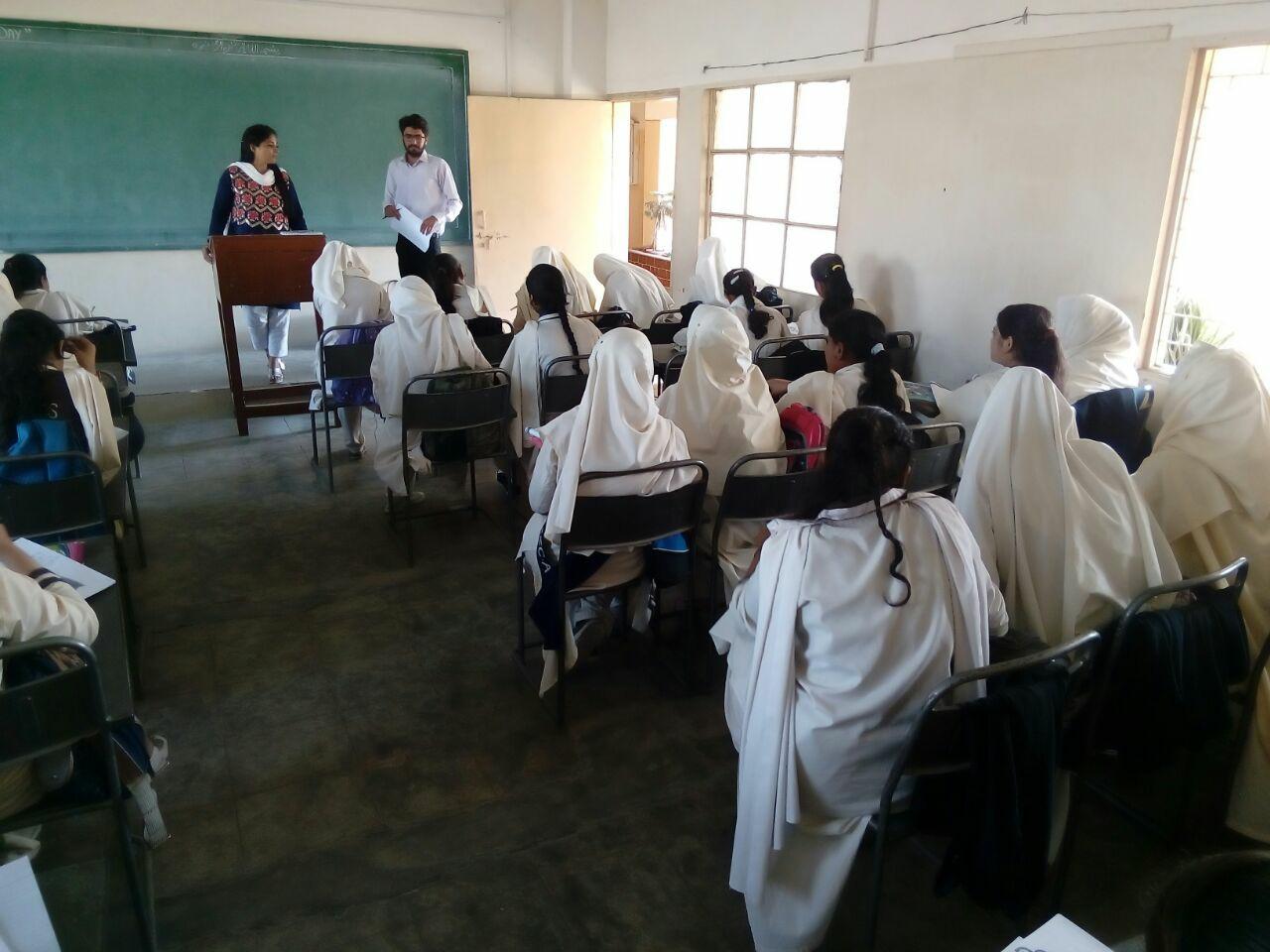 Women Empowerment Sessions ; KMA Girls Secondary School
