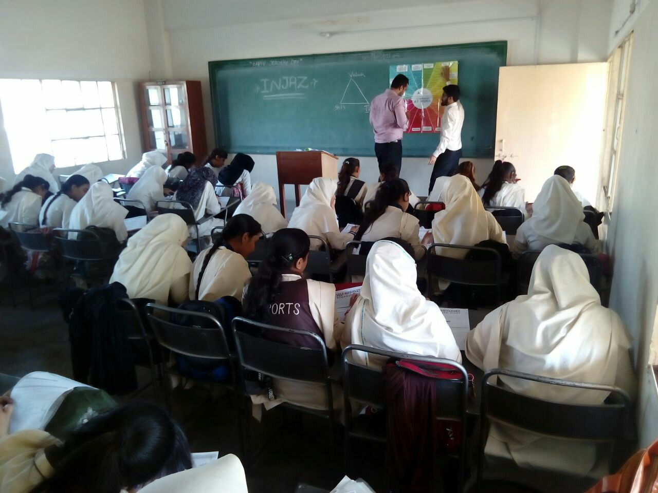Woman Empowerment Sessions Day 4 ; KMA Girls Secondary School