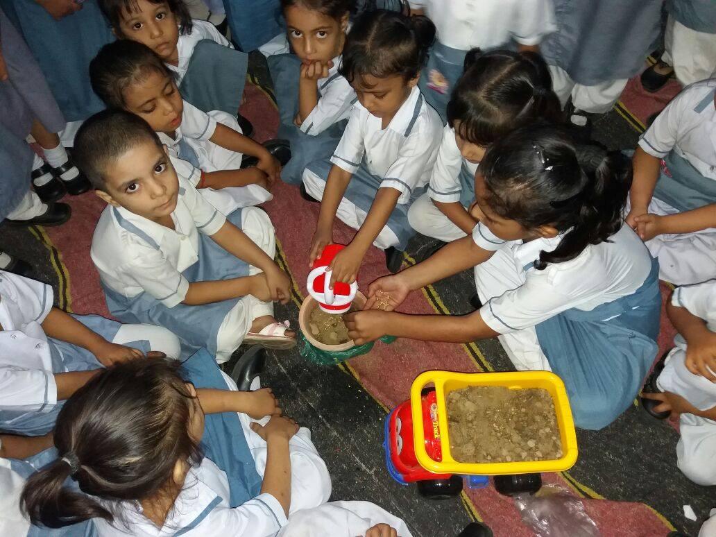 Seeds' Germination Day; Nayabad Campus