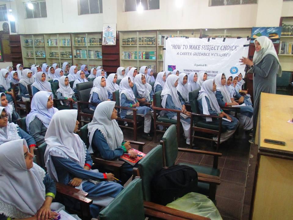 Career Guidance Workshop ; KMA Girls Secondary School