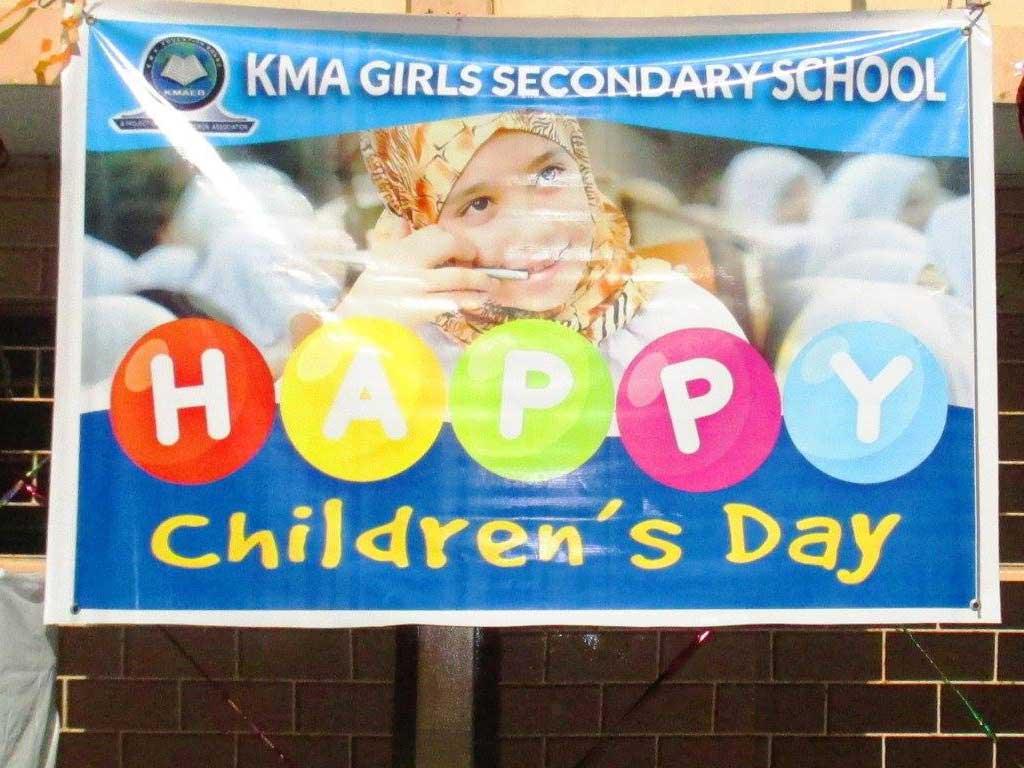 Childrens Day 2017 ; KMA Girls Secondary School