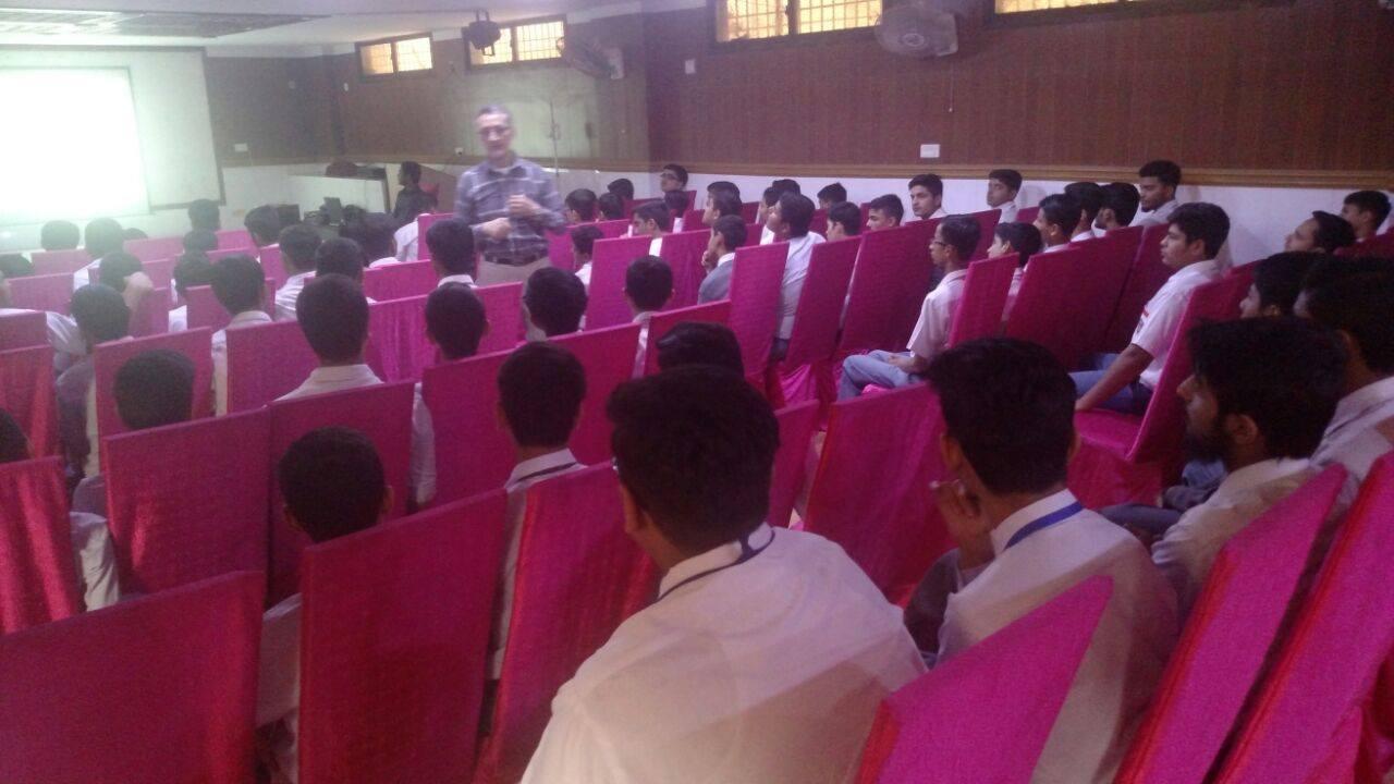 Career Guidance Session ; KMA Boys Secondary School.