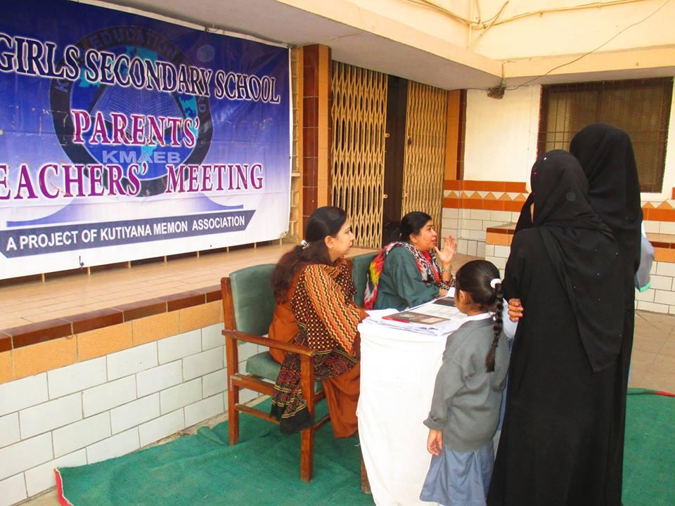 PTM February 2018 ; KMA Girls Secondary School.